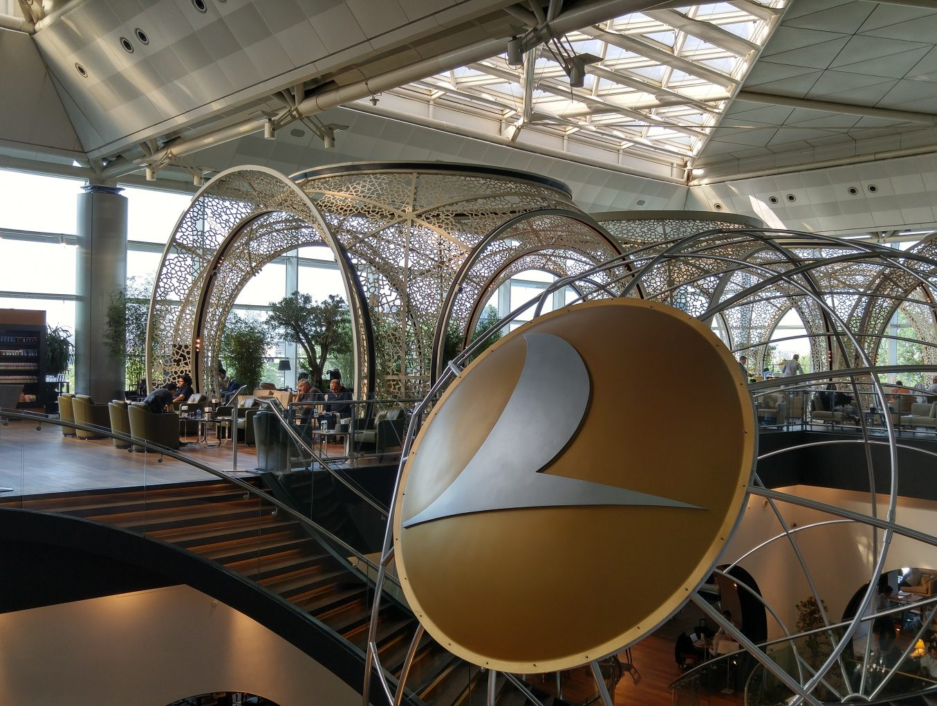 Review - Turkish Airlines CIP Lounge - Istanbul
