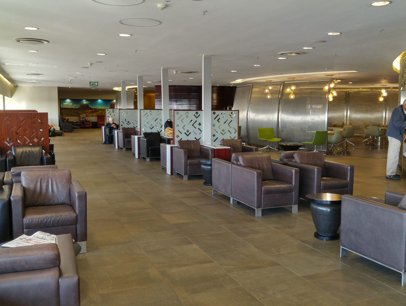 Review – South African Airways Lounge – Johannesburg