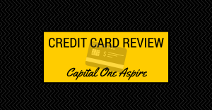 Credit Card Review – Capital One Aspire
