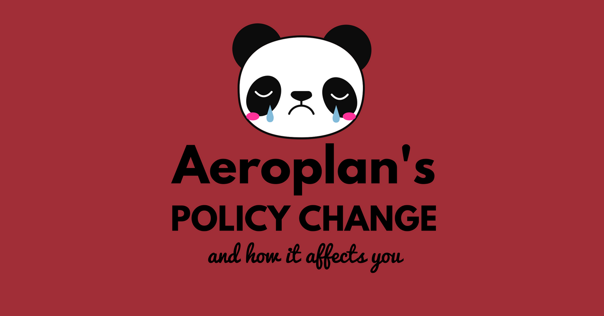 Aeroplan's Horrible Policy Update