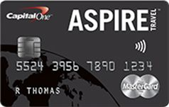 Nooooooo!  The Capital One Aspire is DEAD?!?!?