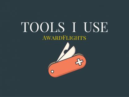 Tools I Use - AwardFlights
