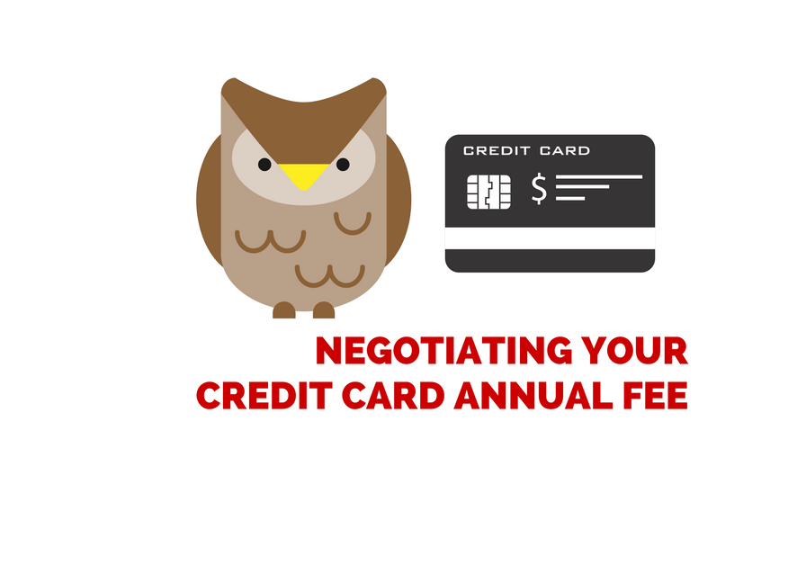 Negotiating Your Credit Card Annual Fee