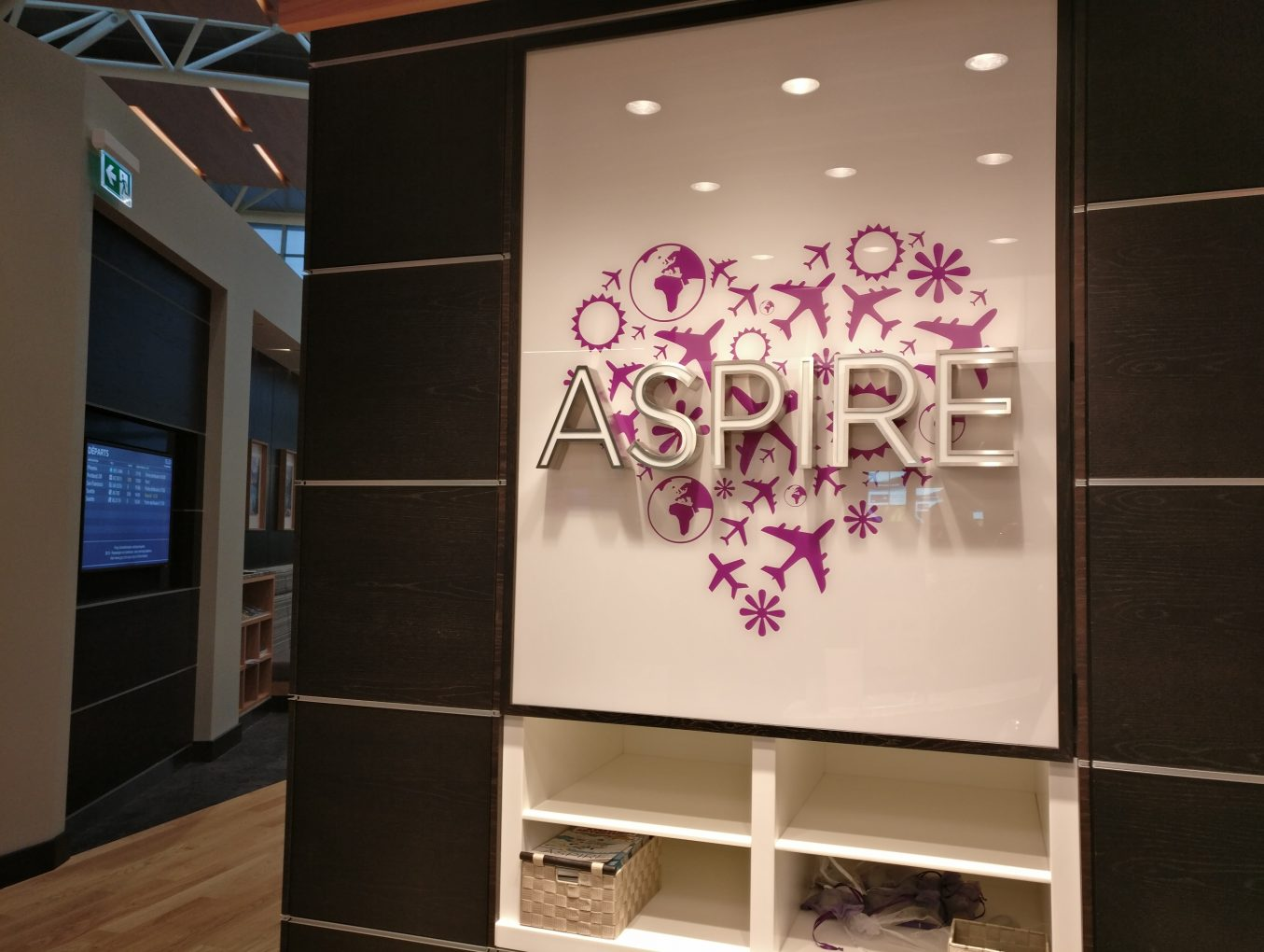 Review – Aspire Lounge – Calgary