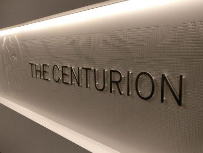 Review – Centurion Lounge - Houston