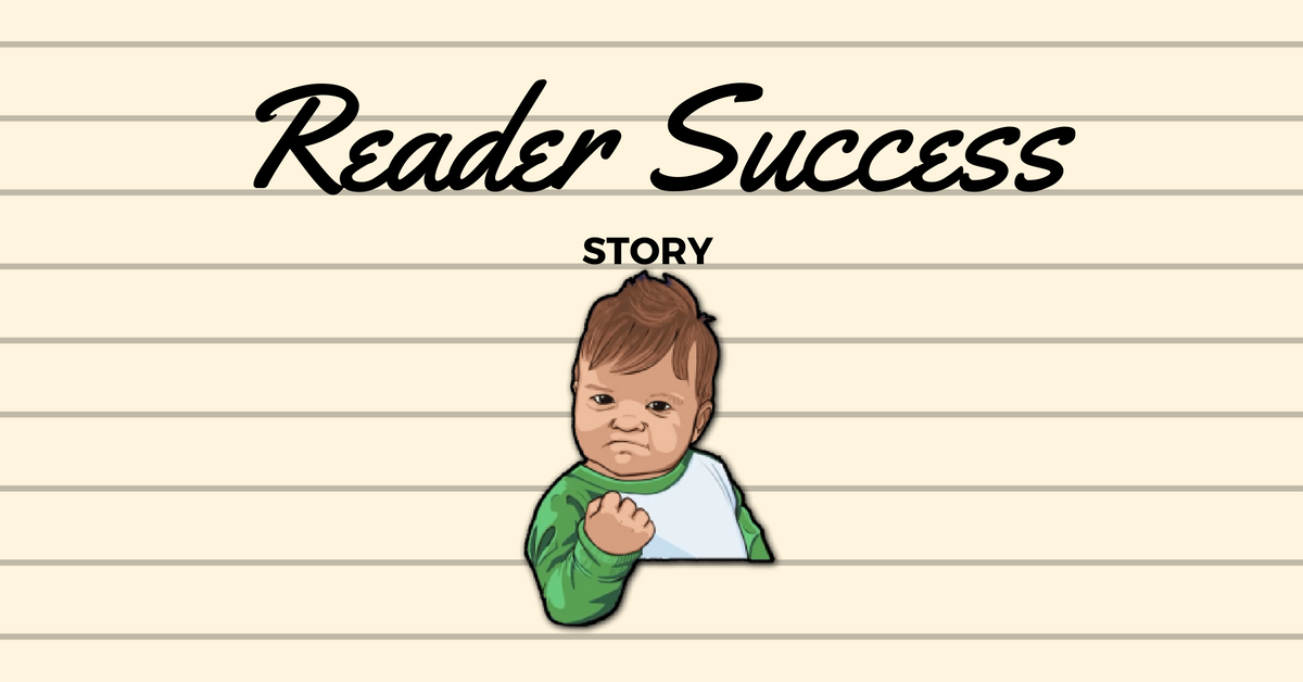 Reader Success Story - Lorraine and John