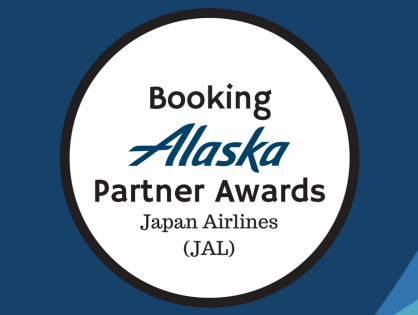 Booking Alaska Partner Awards – JAL