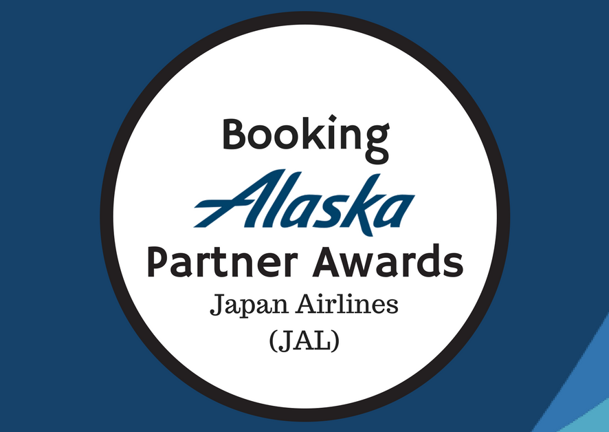 Booking Alaska Partner Awards – JAL
