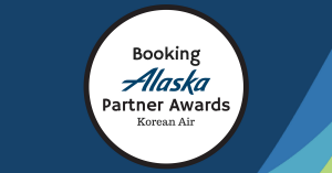 Booking Alaska Partner Awards – Korean Air