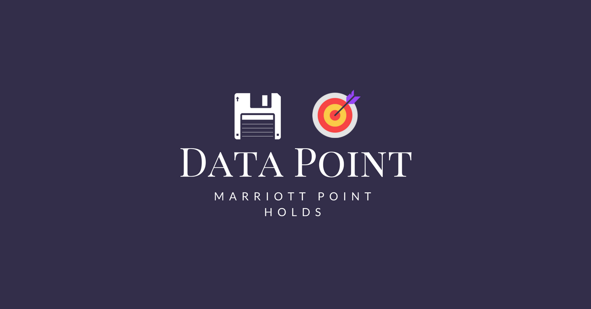Data Point - Marriott Points Holds