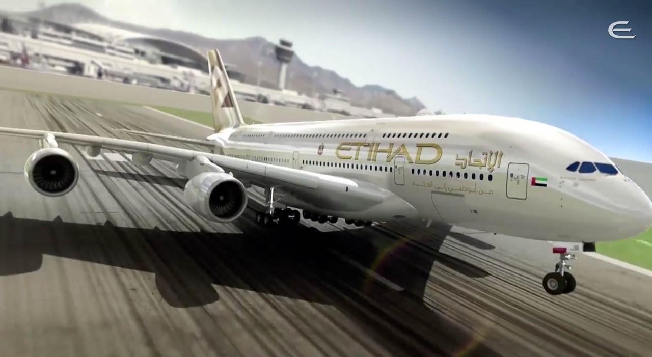 Etihad A380 Takeoff - PointsNerd