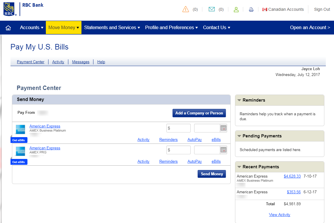 RBC Bill Payment - PointsNerd