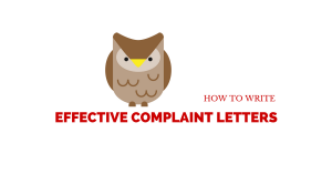 How To Write Effective Complaint Letters