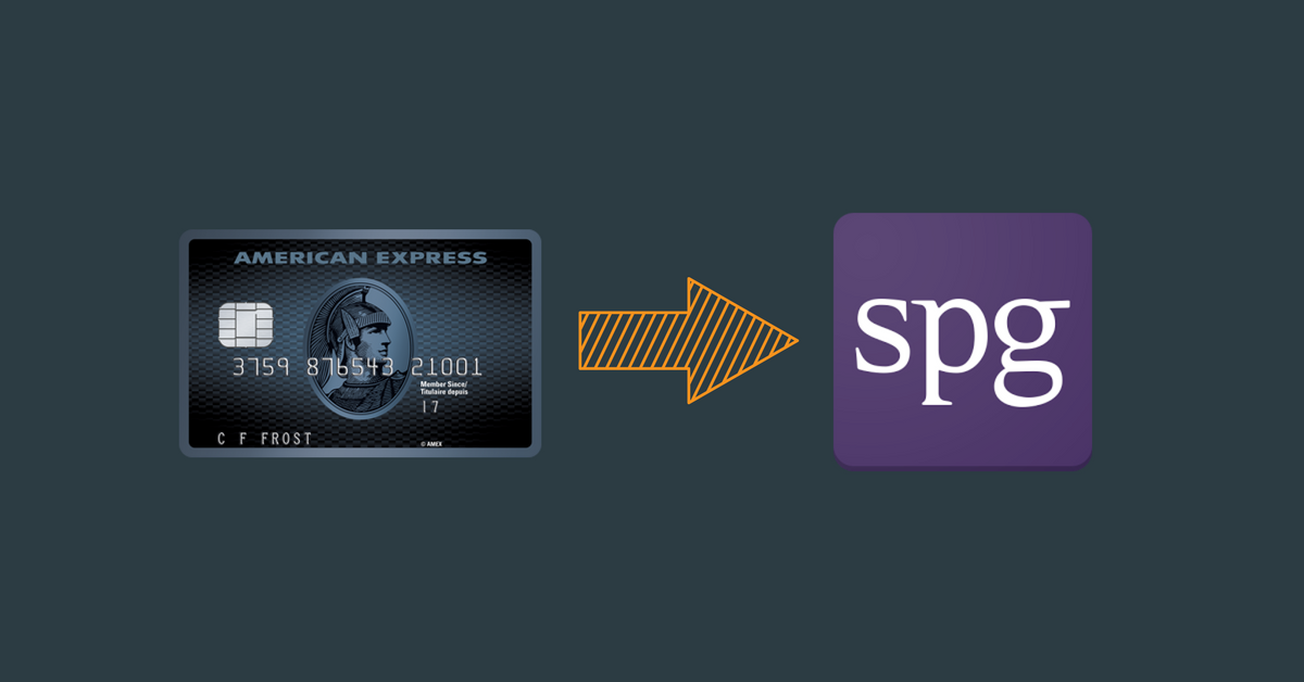 Well That's Annoying - AMEX Cobalt Transfer to SPG