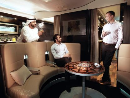 Etihad Business Class Review - AUH-JFK - Airbus A380-800