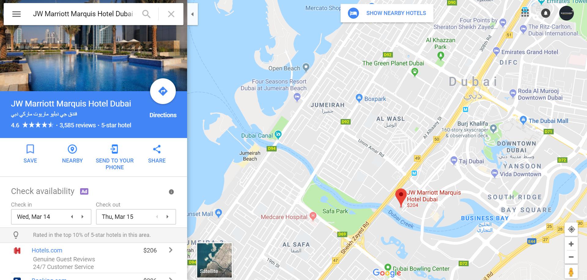 Jw Marriott Map Pointsnerd