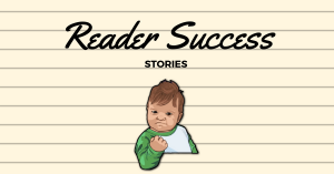 Reader Success Story – Mr. Darcy