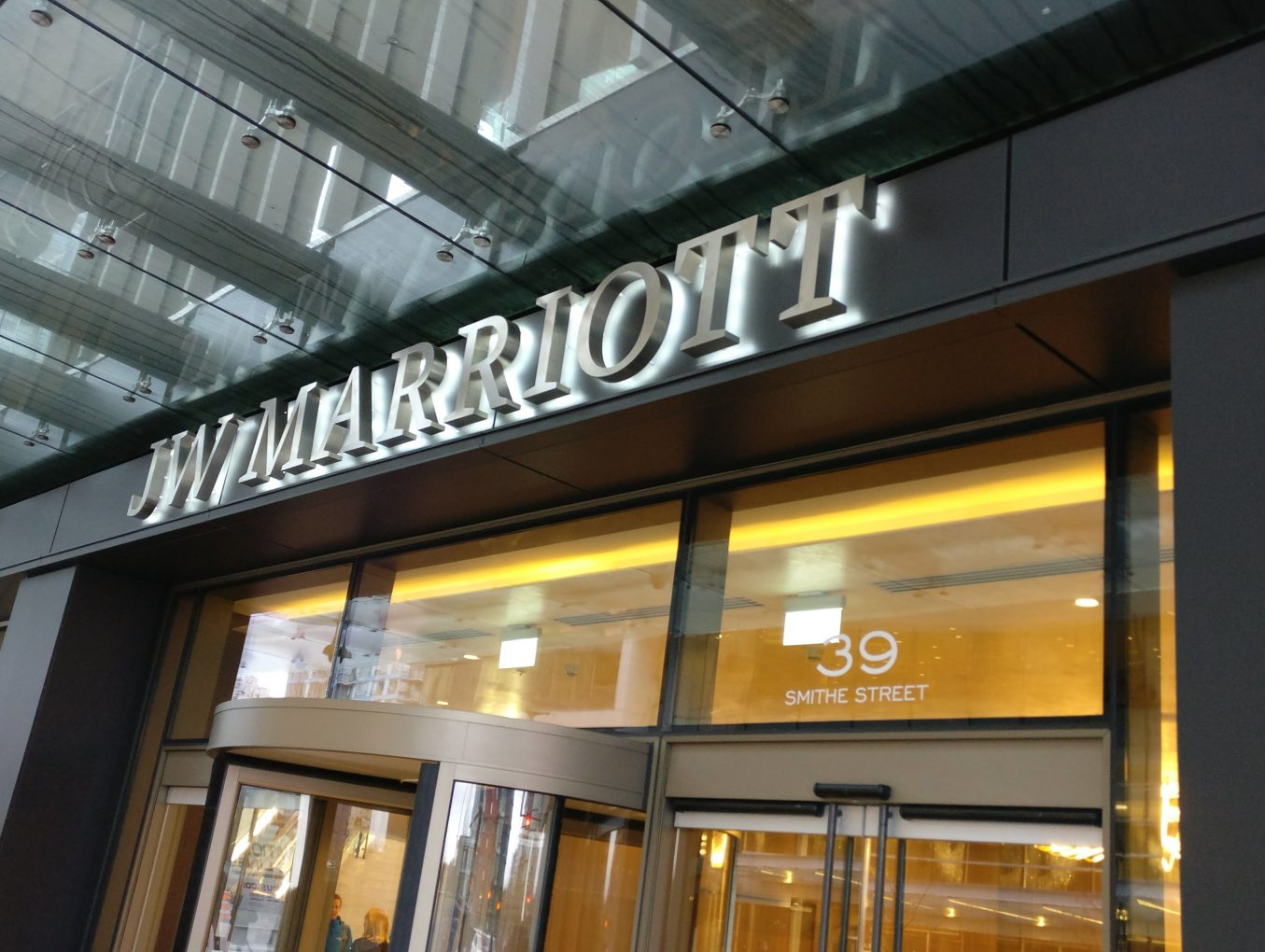 A Review of the JW Marriott Parq Hotel (Vancouver)